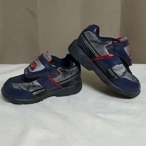 Disney Cars 2 Light Up Sneakers Boys Size 8